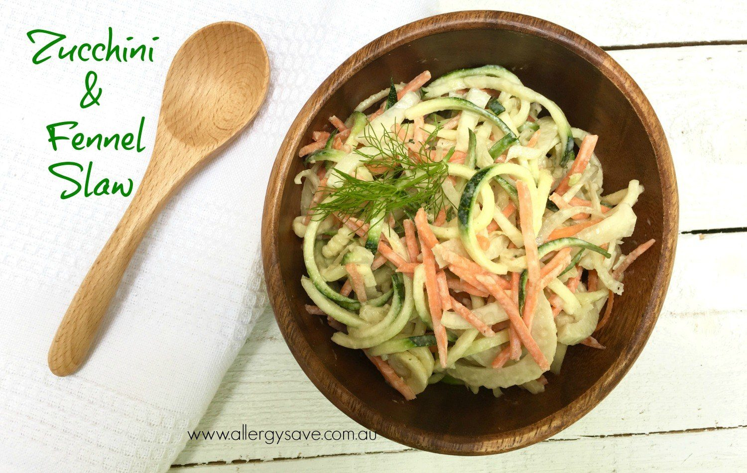 Zucchini and Fennel Slaw