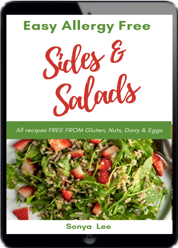 Easy Allergy Free sides and salad cover